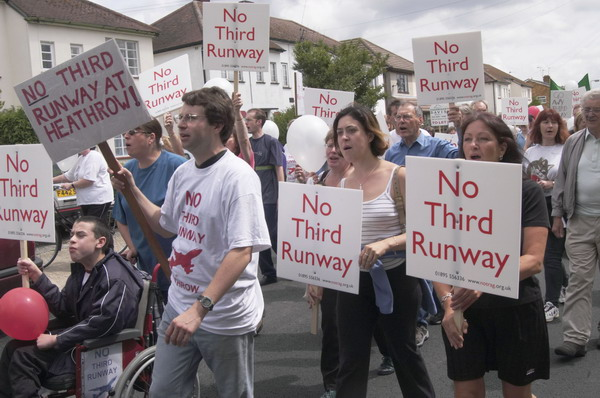 No Third Runway (C) 2003, Peter Marshall