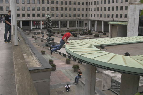 There are some spectacular parkour videos on YouTube, many of which feature