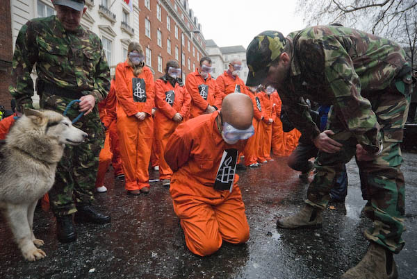 Guantanamo demo, London
