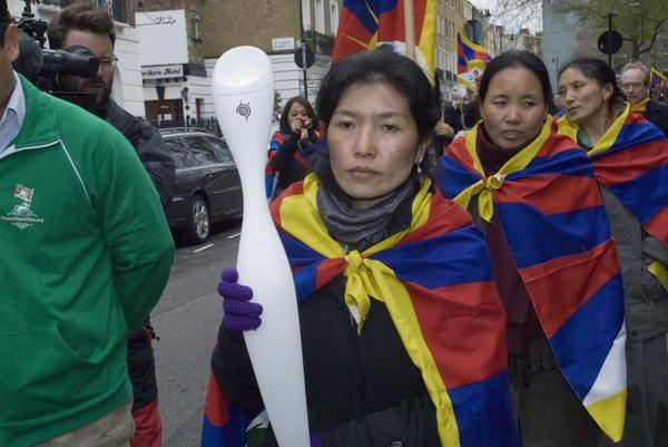Tibetan Torch Relay