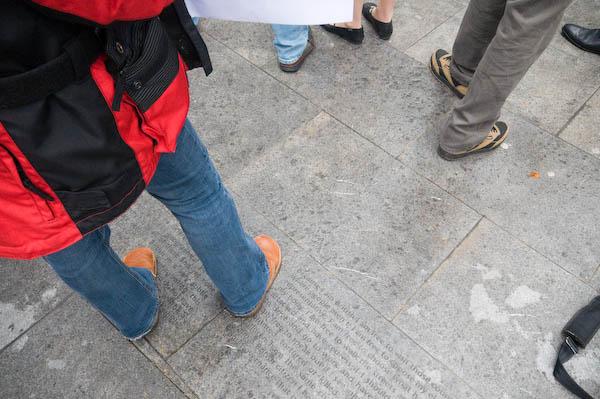 pavement piece
