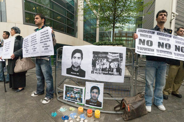 Kurd's vigil