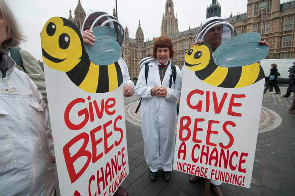 Beekepers at Parliament